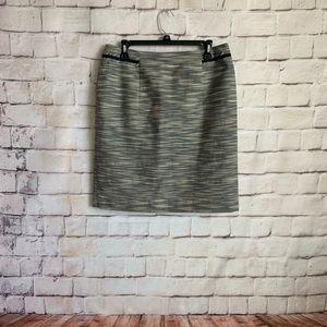Antonio Melani Pencil Skirt, Invisible Zipper, 10
